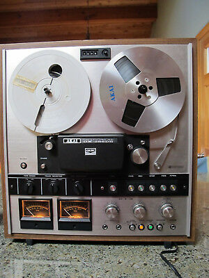 Vintage Akai GX-286DB Reel To Reel Tape Player Recorder AS IS