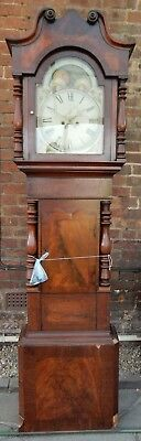 Antique 8 day longcase clock circa 1830-40
