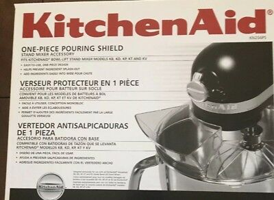Roll over image to zoom in KitchenAid KN256PS 1-Piece Pouring Shield -Only Fit