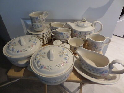 POOLE POTTERY - SPRINGTIME - dinner ware - available from drop down menu