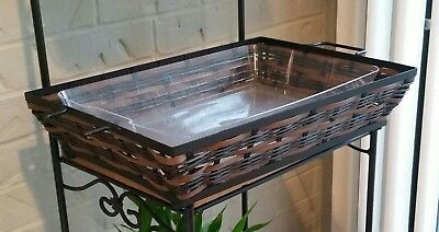 LONGABERGER On The Veranda Tray and Protector Brand New