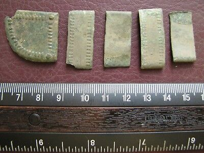 Authentic Ancient Lake Ladoga VIKING Artifact > Bronze Belt Decorations AU 3A