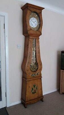 French 19th century Comtoise longcase clock