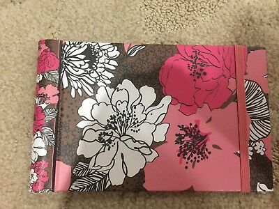 Vera Bradley Mocha Rouge Small Photo Album(Retired Pattern)