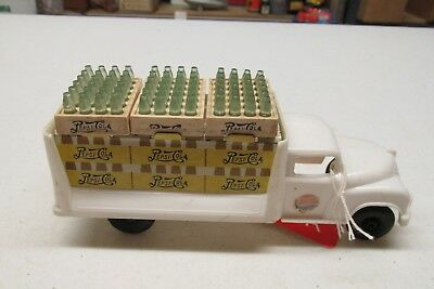 Marx Plastic Pepsi Delivery Truck With Cases