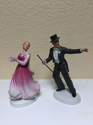 """""""The Barkleys of Broadway"""" Fred Astaire & Ginger Rogers Avon Figurines"""