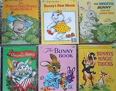 Hop to this deal quickly. A unique collection of six Little Golden Books