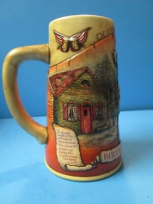 """Miller High Life Stein """"Birth of a Nation"""" First in Series"""