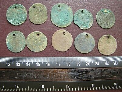Metal Detector Find - Authentic Old Coins for Necklace Pendant AU12