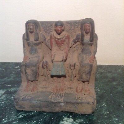 Rare Antique Ancient Egyptian Statue Archtect Imhotep build pyramid2667-2600BC