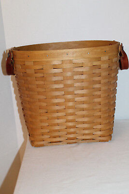 2004 Longaberger Small Oval Waste  Basket