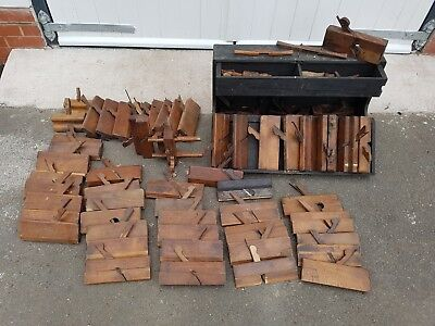 A Large Collection Of Profile/Moulding Planes
