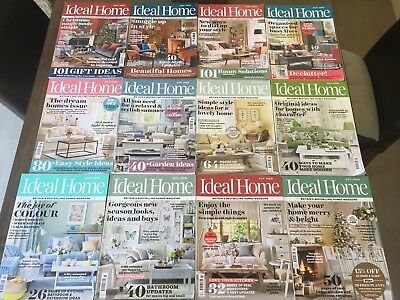 Complete Ideal Home All 2017 Editions