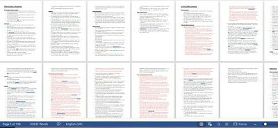 Business Law and Practice LPC Revision Notes 2018- Distinction notes- 100+ pages