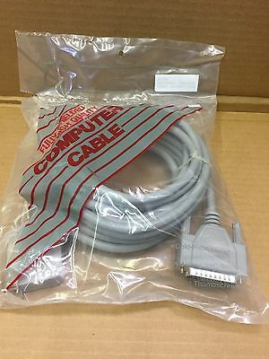 20 ' long PRINTER  extension cable with Male DB25 molded and 36 Pins Centronics