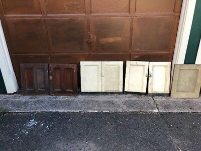 antique cabinet doors- they have to go!