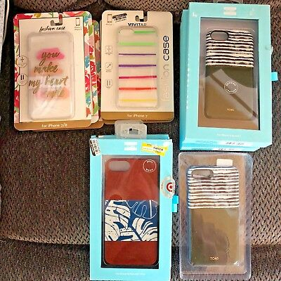 Reseller Lot Iphone Cases Toms Cell Accessories 11 Pieces iPhone 6 7 8 & plus