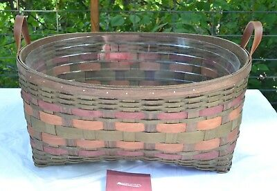 Longaberger 2007 ACT American Craft Traditions HOSTESS-Only BLANKET Basket+ PROT