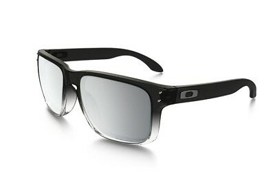 9c4094c9df OAKLEY HOLBROOK OO9102-A9 Iridium Polarized Chrome Dark Ink Fade Collection  NEW
