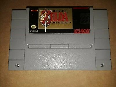 The Legend of Zelda: A Link to the Past (Super Nintendo Entertainment System, 1…