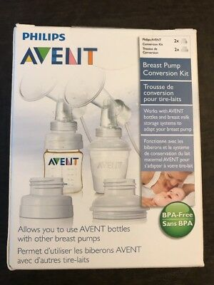 Philips AVENT Breast Pump Conversion Kit NEW Never opened
