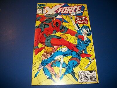 X-Force #11 VF Beauty Deadpool Wow Domino 1st Weapon Prime