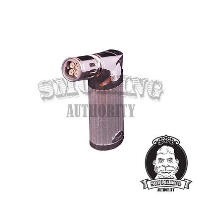 SCORCH TORCH Quad Jet Flame Cigar Lighter - HEAVY DUTY!