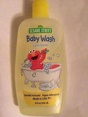 Sesame Street Body Wash for Babies Gentle Formula for Baby