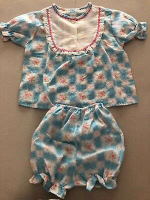 Vintage 1970's Childrens Pajamas