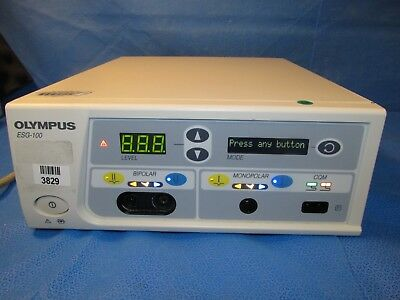 OLYMPUS ESG-100 HF Electrosurgical Generator Console Only
