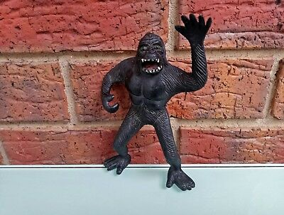 King Kong Gorilla Vintage 1976 Imperial Made In Hong Kong Toy Figure