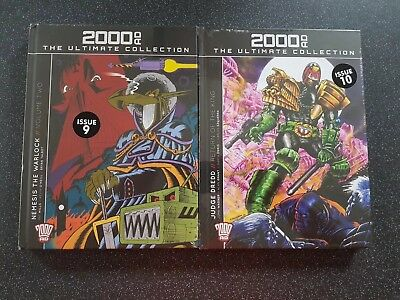 2000 AD Ultimate Collection Issue 9 & 10  Nemesis & Judge Dredd  Brand New