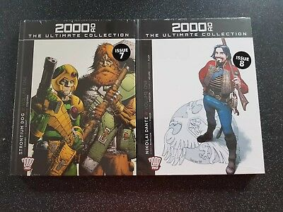 2000 AD Ultimate Collection Issue 7 & 8 Strontum Dog & Nikolai Dante  Brand New
