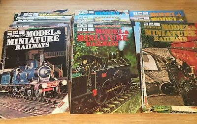 History of Model & Miniature Railways. All 45 issues of this fabulous 1970s set.