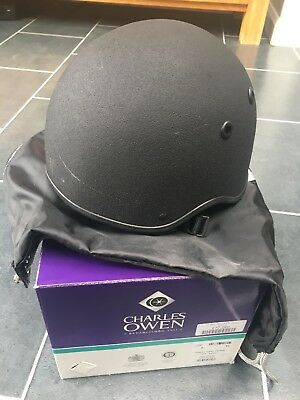 Charles Owen Vented Pro Riding Hat 53