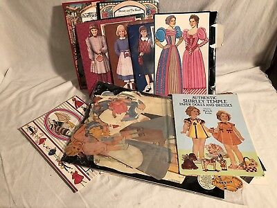 Paper cut-out Dolls Multi theme lot