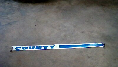 Original County Tractor Decal