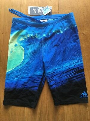 ADIDAS Parley Badehose Jammer Gr.4 / S UPF50+ Regenerated Nylon NP 54,95EUR