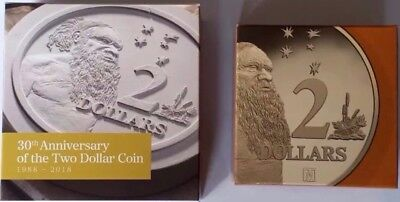 💰2018 ANDA 'M' PRIVY MARK $2 PROOF + 2018 30th Aniversary PROOF $2 SET(3)💰