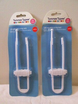 Tommee Tippe Cabinet Slide Safety Lock 0+ Mths
