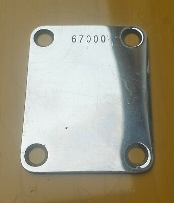 Original Fender Neck Plate 1961