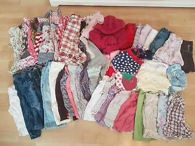 Massive Bundle Of Baby Girl Clothes 18-24 (1-1.5) months used good condition