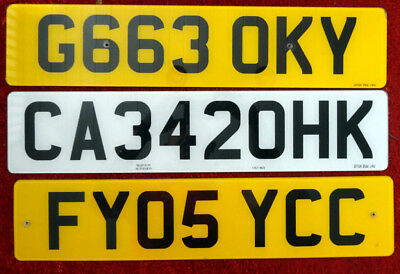Genuine UK license plates 3 regions Camry WALES Nottingham KENT with 420 plate
