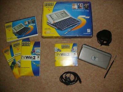 PSION 5MX PDA  boxed all accessories  Grade B and fully working (ref:533)