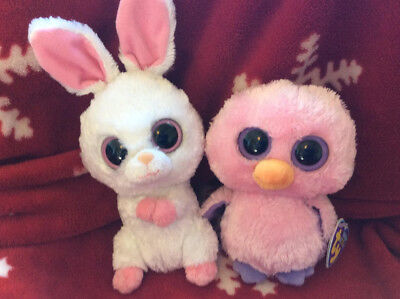 Ty Beanie Boo X 2 - Carrots And Posy - Rare And Retired - Great Condition 9b06e7239dc