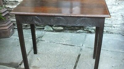 Oak country side table circa 1800