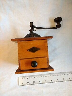 "Vintage Antique French Coffee Grinder Mill ""Moulin a Café"" Emile Edmond  Grulet"