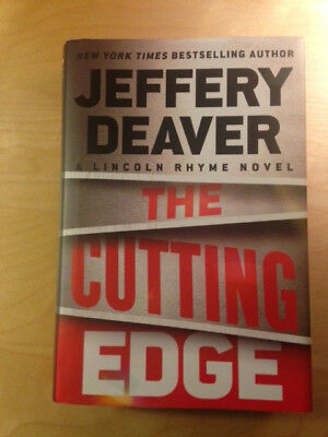 The Cutting Edge by Jeffery Deaver, hard cover, first edition