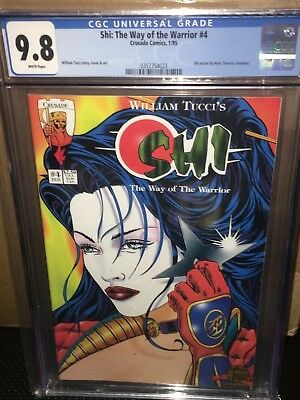 Shi: The Way of the Warrior #4 CGC 9.8 (LOW POP) (William Tucci)