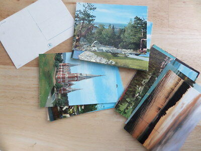 15+ postcards from FINLAND - posted and unused - colour and black and white